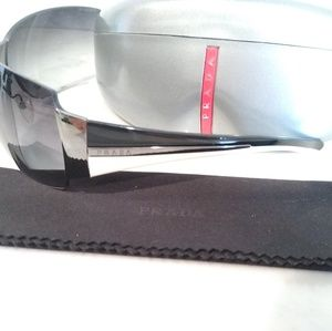 Authentic Prada Frameless Sunglasses